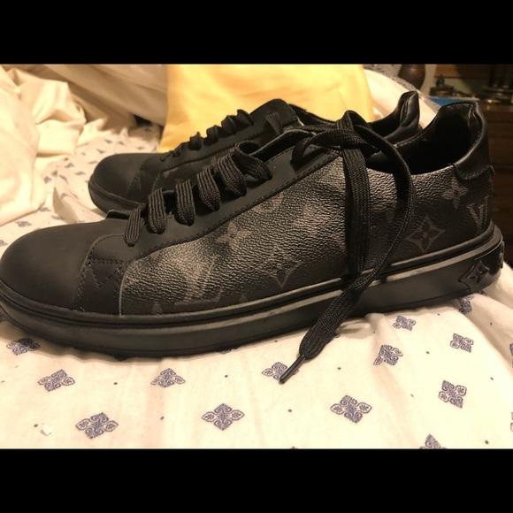 Louis Vuitton Shoes   Mens Black